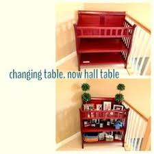 rolling baby changing table repurposed baby changing table made into a rolling craft cart