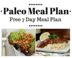 free paleo meal plan u2022 7 day meal plan shopping list