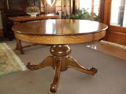 antique round dining table interesting ideas antique round oak dining table quarter sawn