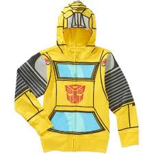 Bumblebee Transformer Halloween Costume Transformers Bumble Bee Boys Costume Hoodie Walmart
