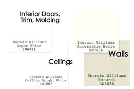 best white color for ceiling paint best sherwin williams white paint color for interior trim and doors