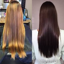 Dark Hair Colors And Styles Before After Rich Chocolate Brown Hair Color My Style