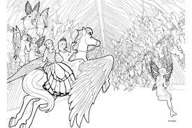 barbie mariposa fairy princess coloring pages periodic