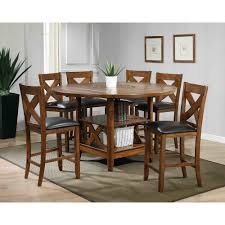 stylish round dining room table set pompei mosaic dining set dark