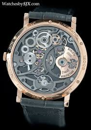 piaget skeleton up with the piaget altiplano ultra thin skeleton now in