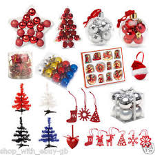 tree decorations hangers santa baubles