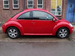 2009 volkswagen beetle herbie 1 6 luna with ac in red years 54k