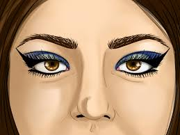 pretty halloween eye makeup how to apply egyptian eye makeup with pictures wikihow