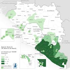 Map Of Sierra Leone Who Ebola Maps