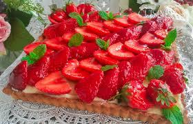 aux fraises cuisine la tarte aux fraises facile amour de cuisine