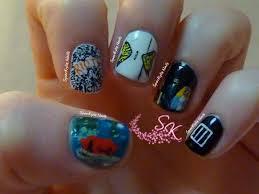 Music Nail Art Design Sparkylie Nails Paramore Nail Art Music Monday