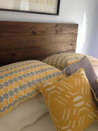 Wood Headboard Diy Diy Wooden Headboard For Under 60 Diy Pinterest Wooden