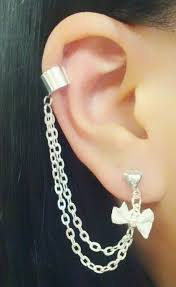 earrings with chain ear cartilage 11 best cartilage earrings images on cartilage