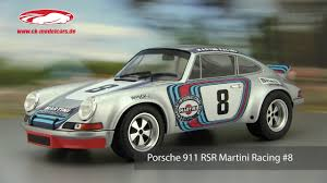 1973 rsr porsche ck modelcars video porsche 911 rsr martini racing 8 winner 1973