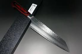 Damascus Kitchen Knives Sakai Takayuki 33 Layer Vg10 Damascus Hammered Kengata Chef Knife