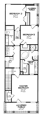 narrow cottage plans 2 bedroom house plans for narrow lots homes zone
