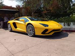 lamborghini sports car 2017 lamborghini aventador s review autoguide com news