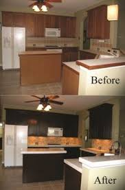 Kitchen Cabinet Paints by Painted Maple Cabinets Before And After For An Amazing Before And