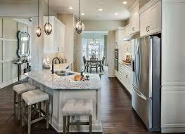 kitchen with island and peninsula best 25 kitchen peninsula and island ideas on