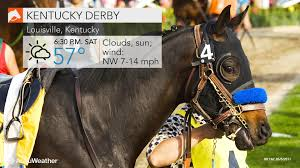 2017 kentucky derby unseasonably cool weather forecast for