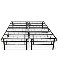 Platform Metal Bed Frame Sleep Trends Hercules 14 Inch Platform Metal Bed Frame Assembly