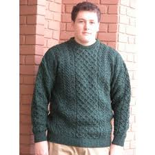 fisherman sweater merino wool fisherman sweater dk green sweaters s