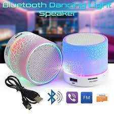 light up portable speaker portable bluetooth led speaker getihu