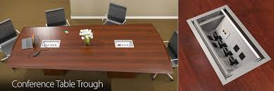 Boardroom Table Power And Data Modules Cable Management Box Computer Cable Connection Management Box