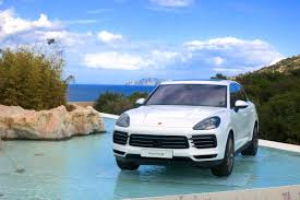 2017 porsche cayenne gts blue first drive 2019 porsche cayenne review