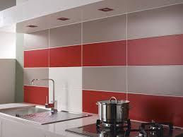 decoration carrelage mural cuisine crédence de cuisine avec carrelage mural un effet