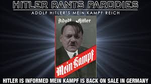 is informed mein kampf is back on sale in germany youtube