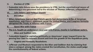 chapter 8 the early republic i introduction americans assumed