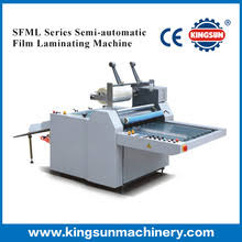 film semi series semi automatic thermal laminating machine semi automatic thermal