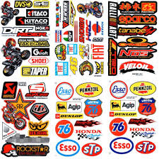image gallery of racing bike logo stickers