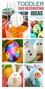Easy Easter Egg Decorating For Toddlers by No Mess Easter Egg Decorating Method For Kids Using Markers Easy