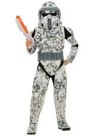 Jar Jar Binks Halloween Costume Kids Deluxe Edition Arf Trooper Costume Child Clone Wars Clone