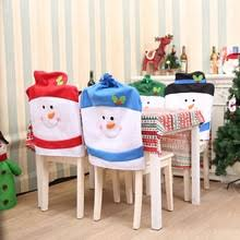 Christmas Chair Back Covers Chair Christmas Cover Promotion Shop For Promotional Chair