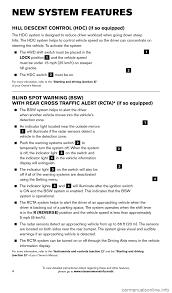 nissan pathfinder key start nissan pathfinder 2016 r52 4 g quick reference guide