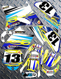 motocross race numbers yamaha yz85 motocross graphic background decal kit