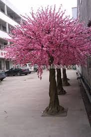 artificial decorative trees for the home peach flower tree indoor home decorative artificial tree large