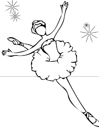 ballet coloring pages getcoloringpages com