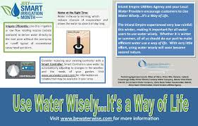 inland empire utilities agency u0027s water education programs july is
