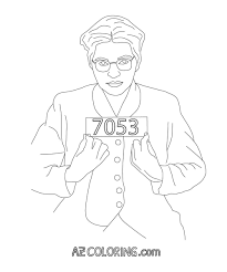 rosa parks coloring page black history month coloring pages black
