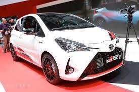 logo toyota yaris toyota yaris grmn hatch joins facelift and wrc race car in