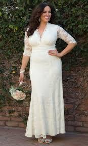 wedding dresses for plus size women plus size wedding dresses amour lace wedding gown kiyonna