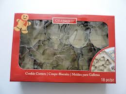 celebrate it cookie cutters christmas cookie cutter celebrate it 18 cookie cutter set