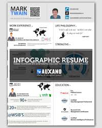 Online Resume Service by Awesome Infographic Resume For Job Success
