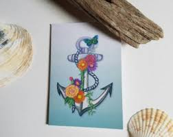 nautical card box etsy