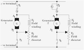 generator wiring diagram update parallel operation of dc generators
