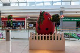 Easter Decorations For Shopping Malls by The Ladybugs Have Arrived